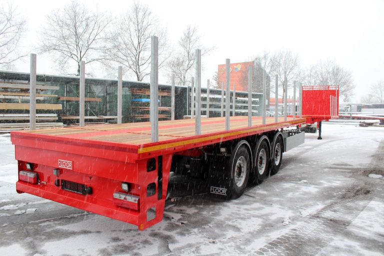 TWO FLOOR EXTENDIBLES FOR THE TRANSPORTATION OF CONSTRUCTIONAL STEEL