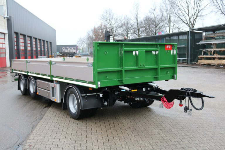 COMPACT TRIAXIAL PACTON SEMI-TRAILER FOR HAITJEMA Ltd