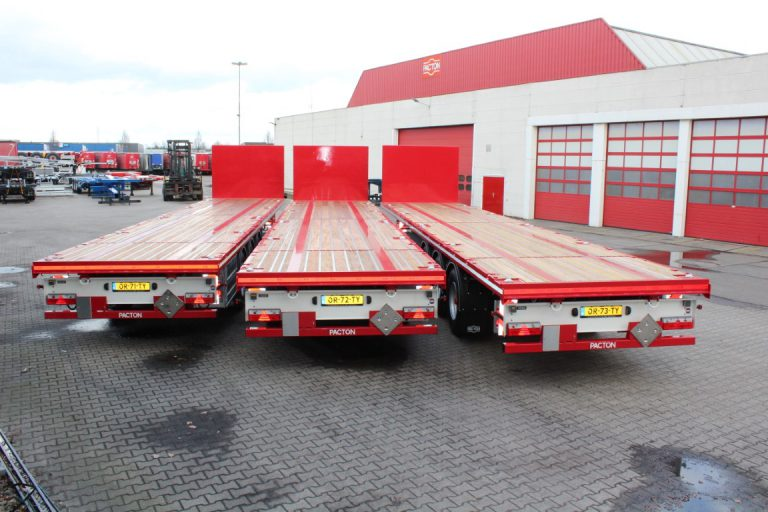 FOURTEEN PACTON SEMI-TRAILERS FOR LOGI TRANS.