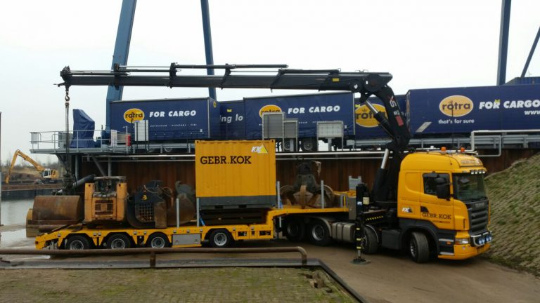 4-axle multifunctional FLOOR stepdeck trailer