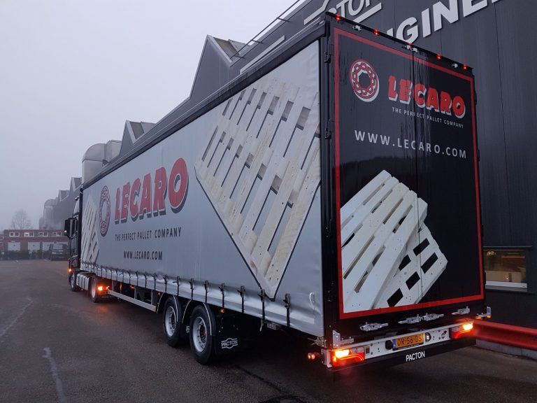 BIAXIAL MEGA SEMI-TRAILER FOR LECARO