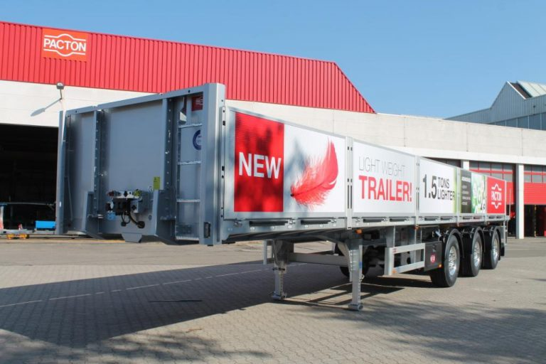 "Pacton Trailers introduces the TPL.339.C.-B. ""X-Light"""