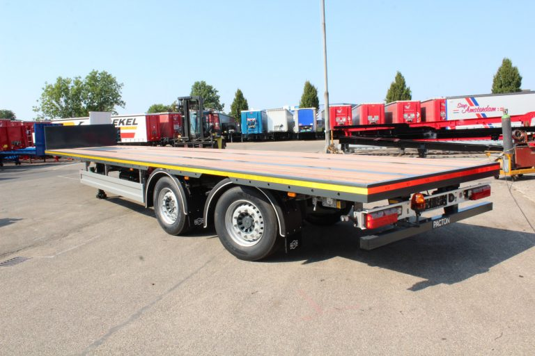 DUO PACTON OPEN TRAILERS FOR VOGELZANG ROOF UNITS