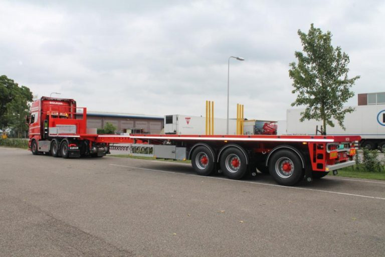 Four Pacton semi-trailers headed to Bolkan Trans Namos AS Norway