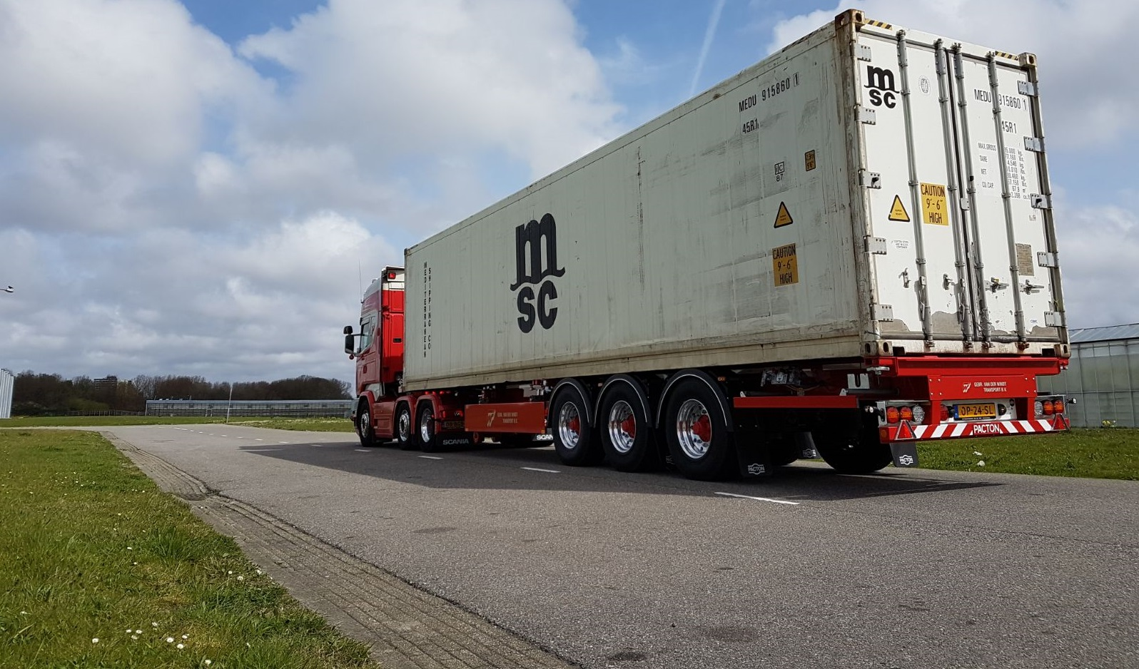 40 – 45 FT CONTAINERCHASSIS