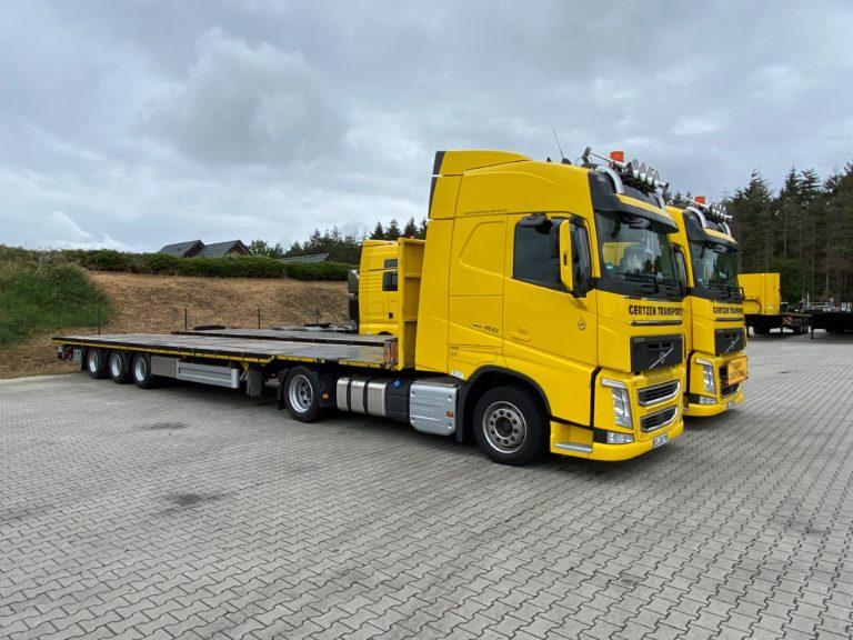 Gertzen Krane-Transporte koopt derde Pacton Mega-oplegger
